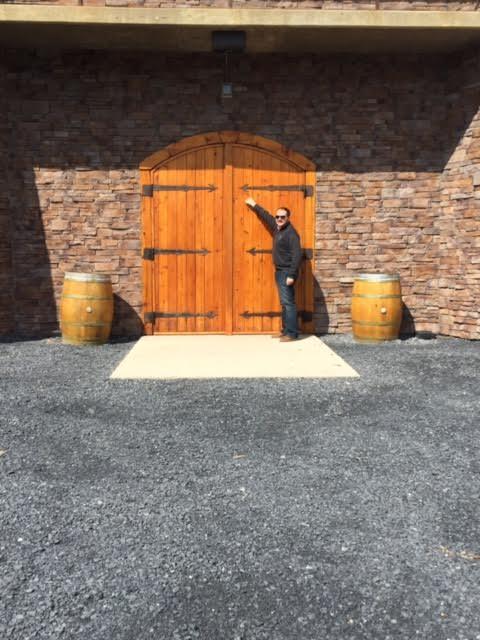 The Cellar door at Chrysalis