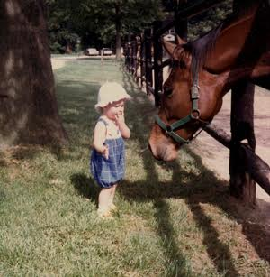 alison and horse